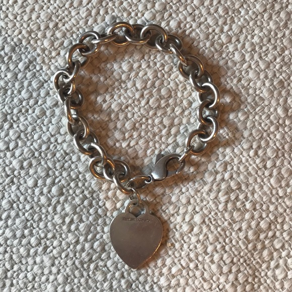 fa42fd44f Tiffany & Co. Jewelry | Tiffany Co Heart Tag Charm Bracelet | Poshmark